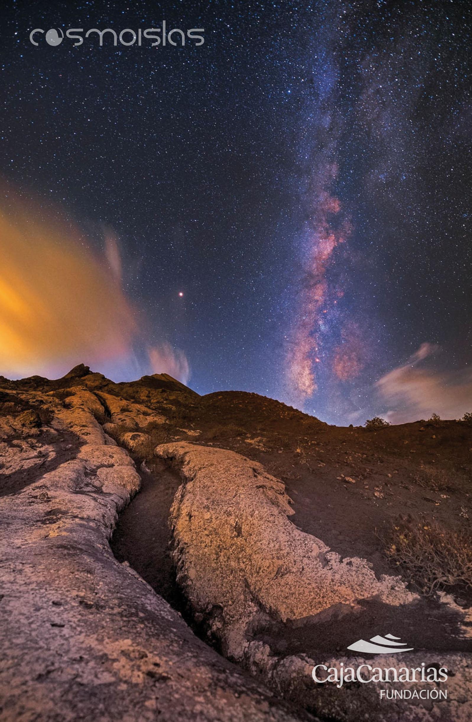 via lactea en el volcan pico partidov4