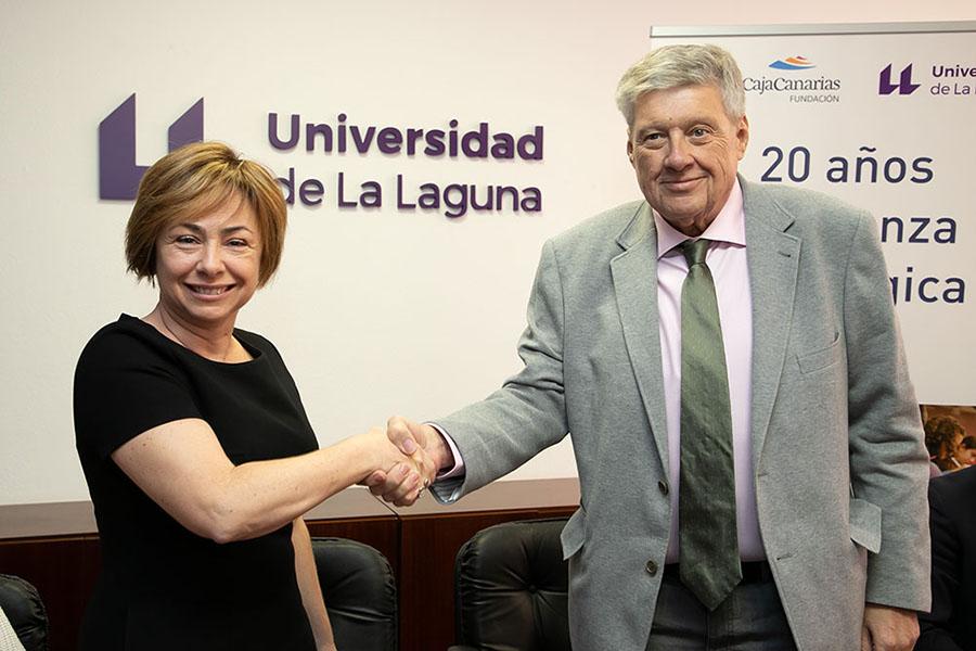 Acuerdo de CajaCanarias y la ULL
