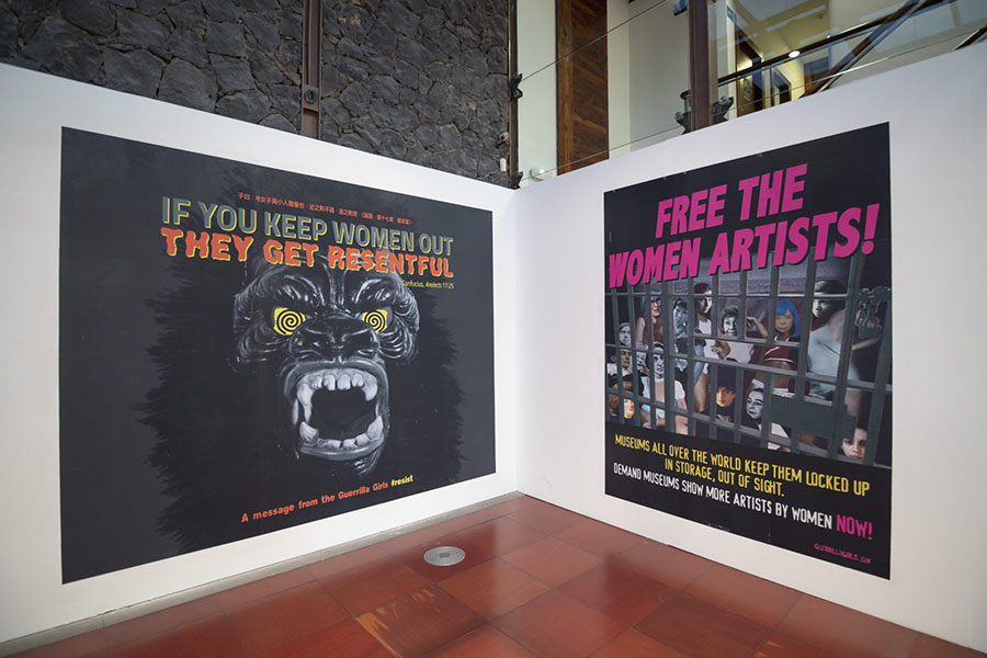 Exposición Guerrilla Girls