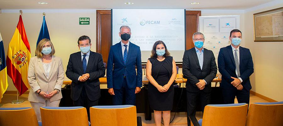 Convenio FECAM y CajaCanarias