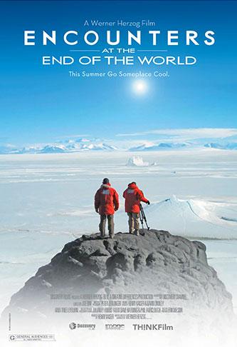Cartel Encuentros en el fin del mundo