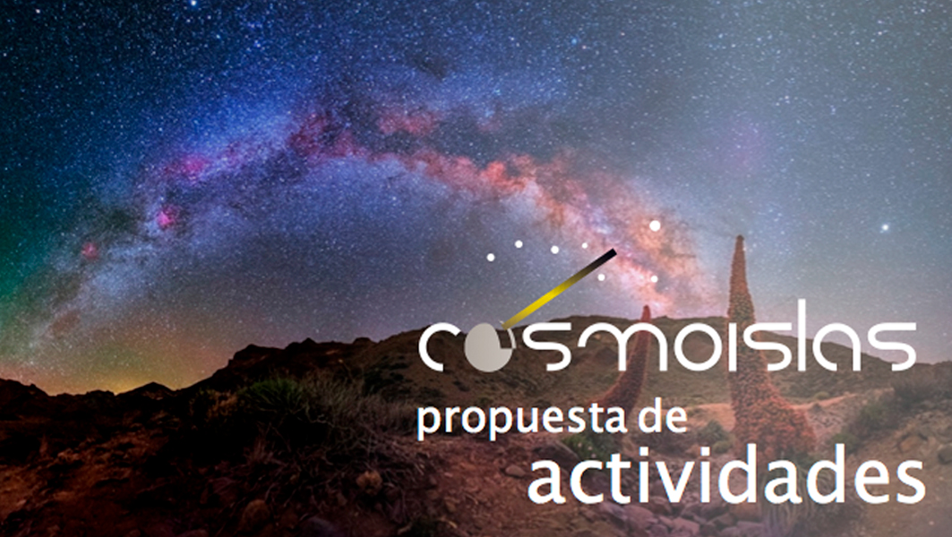 propuesta actividades cosmoislas