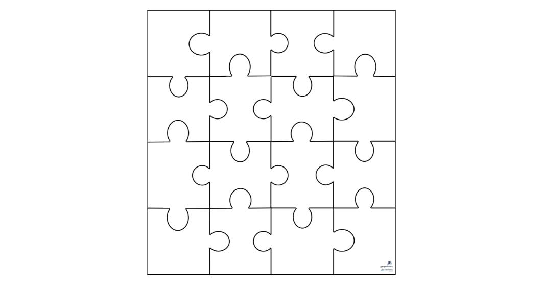 puzzle plantilla