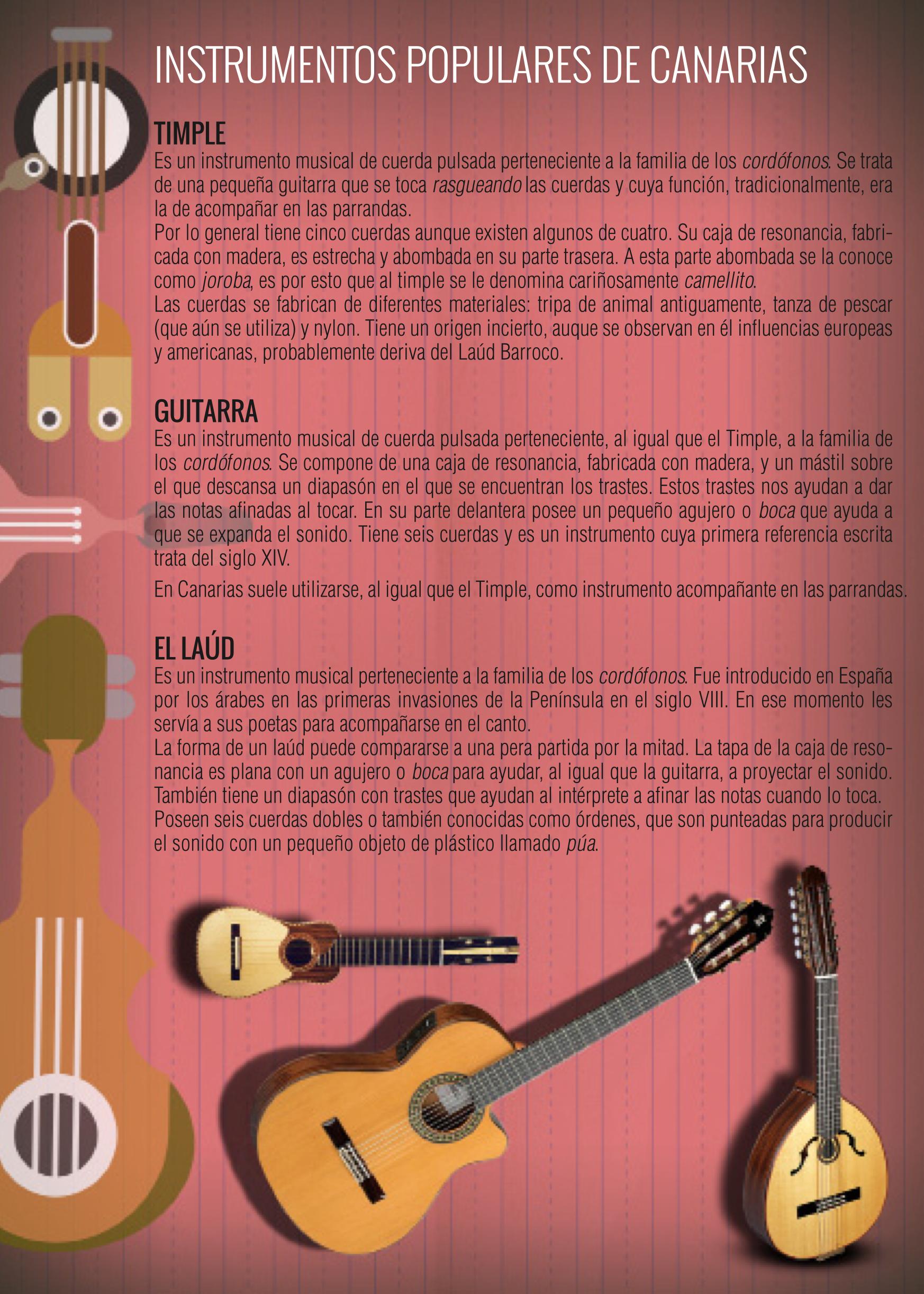 Instrumentos populares