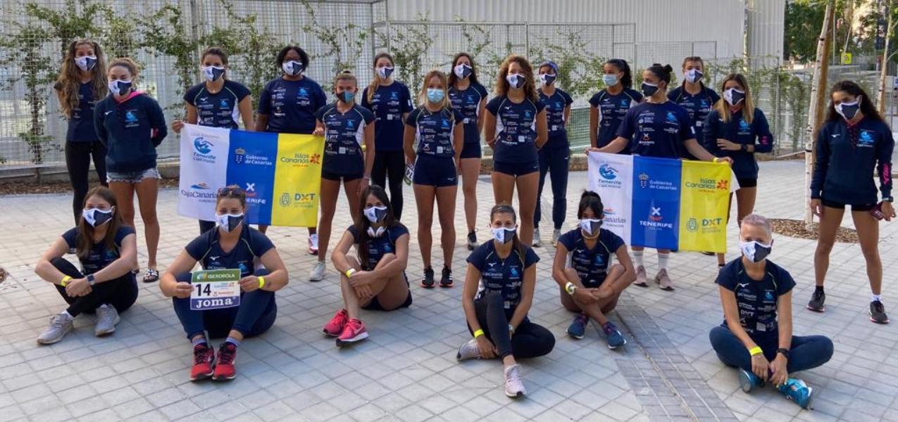 Equipo femenino Tenerife CajaCanarias 1