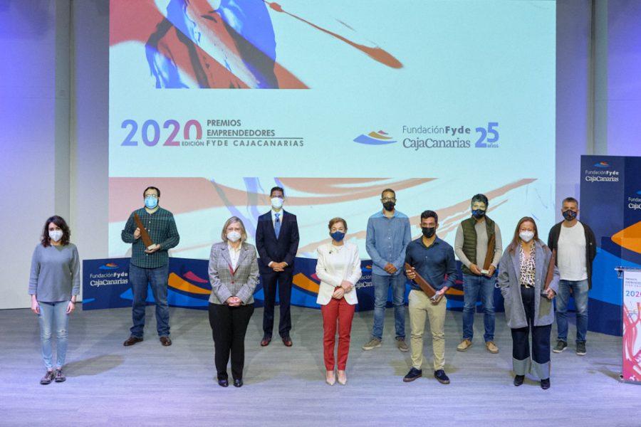 Entrega de Premios Emprendedores 2020. Espacio Cultural de CajaCanarias © Aarón S. Ramos/FYDE