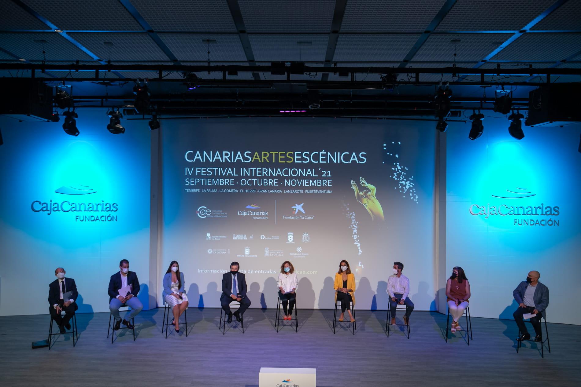 cajacanarias iv festival canarias artes escenicas2021 2